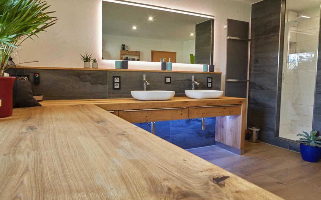 Großes Bad aus Asteiche